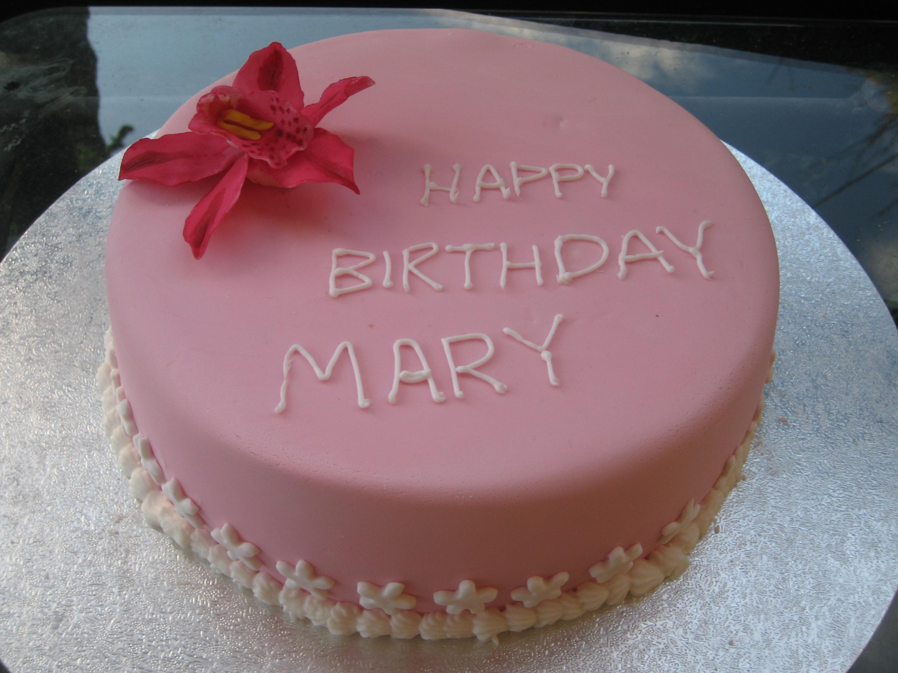 Happy Birthday Mary Sweet Imagination