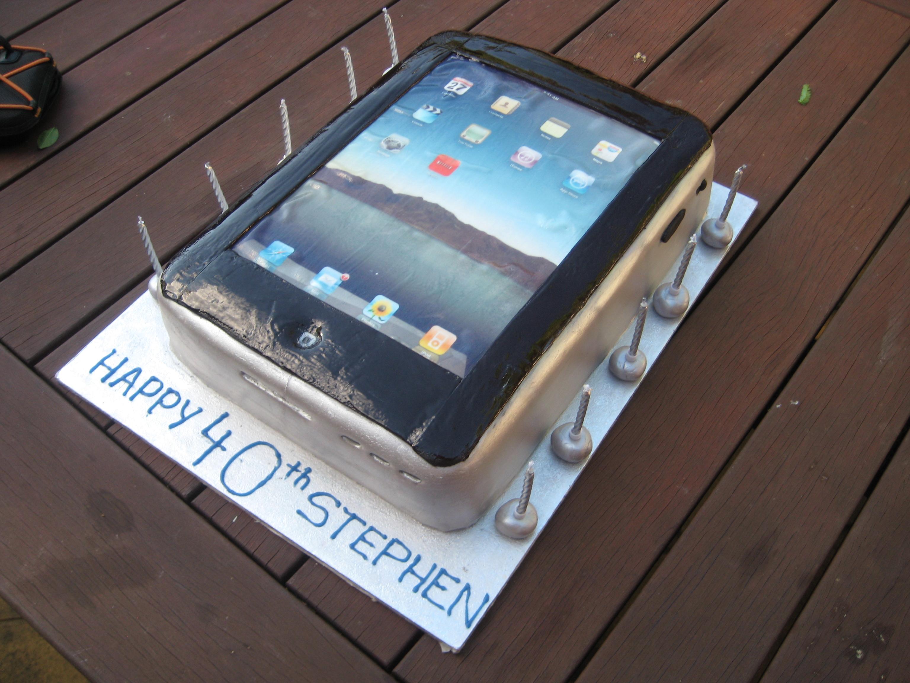 Cake Decorating Central Castle Hill : iPad cake Sweet Imagination